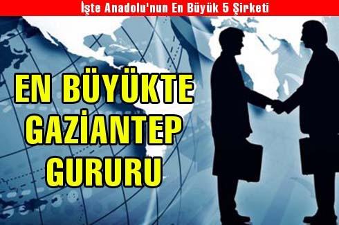 İşte Anadolu'nun En Büyük 5 Şirketi