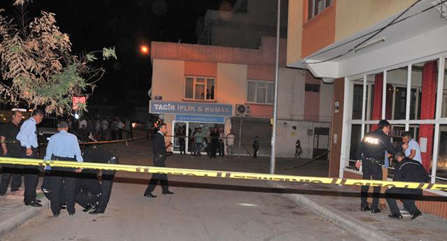 Polis kavgada yaralandı