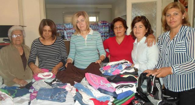 CHP'li kadınlardan Kobani'ye yardım paketi