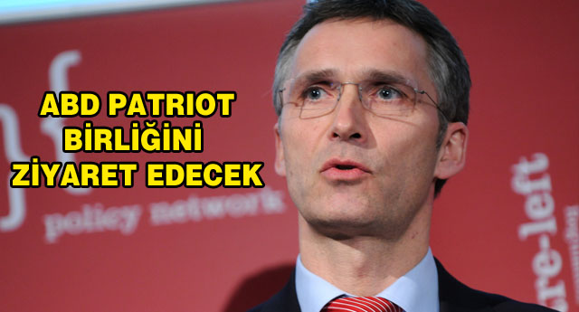 BU KEZ NATO GENEL SEKRETERİ  GELİYOR