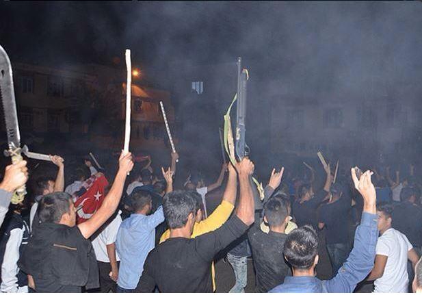 İşte Gaziantep te bu geceki görüntüler