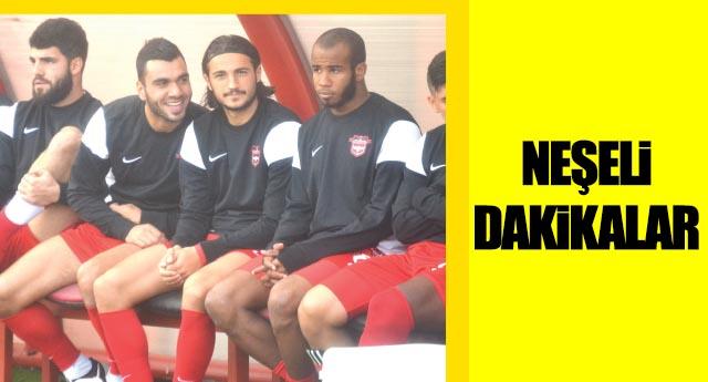 Mustafa Durak kırdı geçirdi