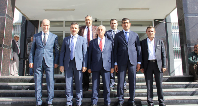 Kaymakamlara Gaziantep'i anlattılar
