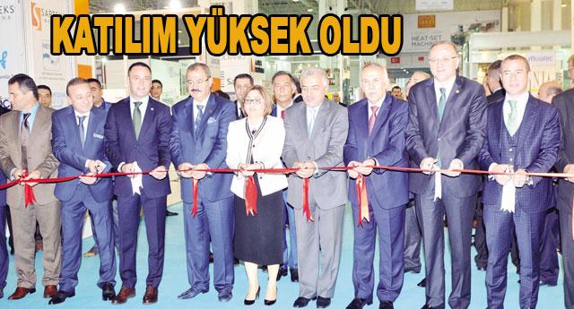 Ortadoğu Tekstil Makinaları Fuarı açıldı