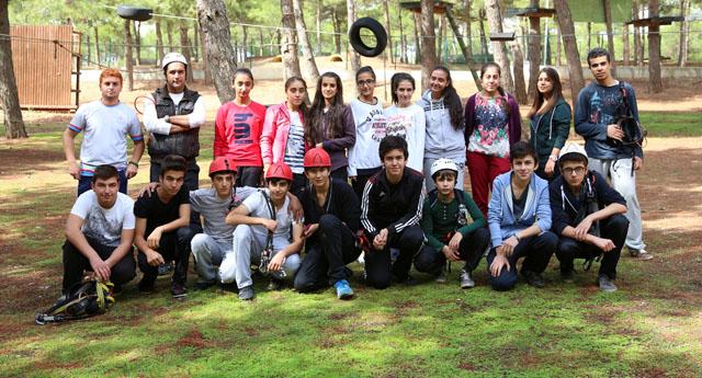 İzci kampları okullarda