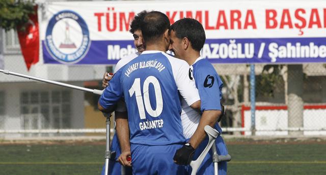 Şahinbey'in aslanları şov yaptı 5 – 0