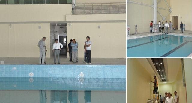 Şahinbey'de yüzme havuzları hizmete giriyor