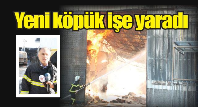 OSB'deki yangın üzdü