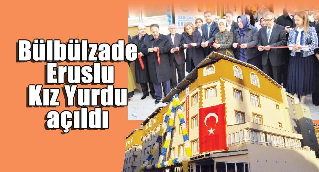 Açılışı Sare Davutoğlu yaptı