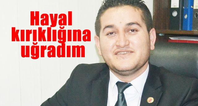 Şahinbey Meclisinin en genç üyesinden itiraf