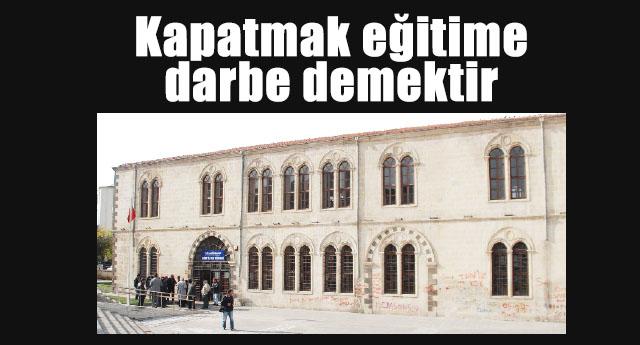 Kütüphanenin kapatılması meclise götürülüyor
