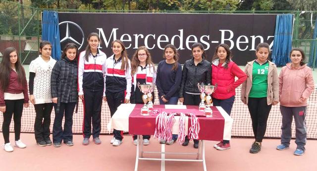 Okul Sporları Tenis ile başladı