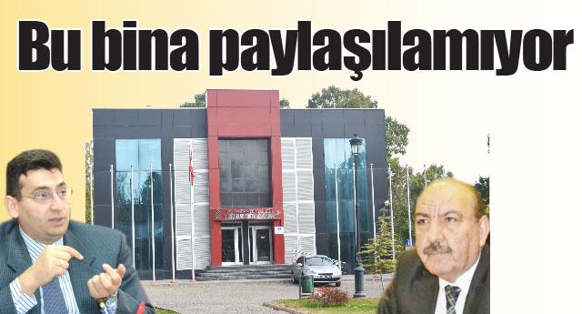 Mehmet Aslan ısrarla Turizm  binasını istiyor
