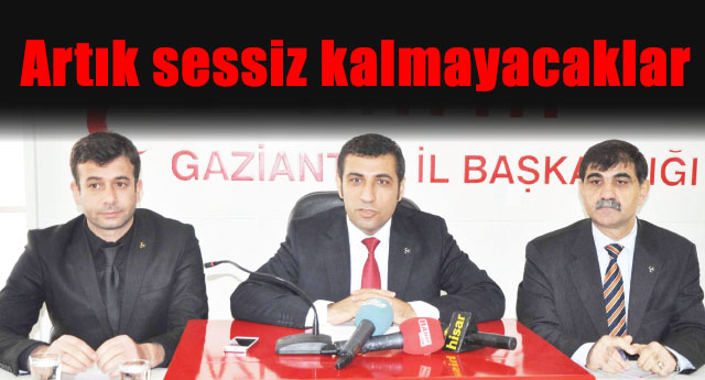 MHP, Gaziantep'in sorunlarını gündeme getiriyor