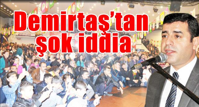 Kobani eylemlerinde Gaziantep'te ölenler için konuştu