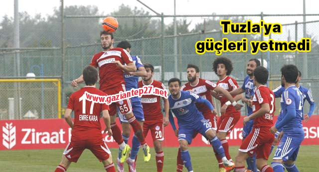 Büyükşehir'in TUZU KURU 2-3