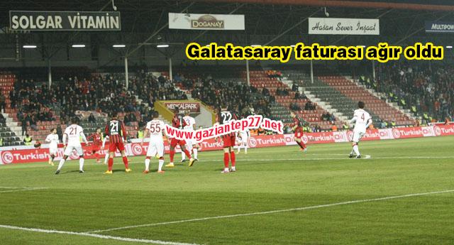 Galatasaray faturası ağır oldu