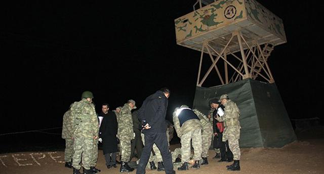Suriye sınırında şok