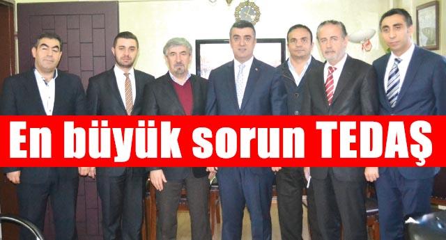 AK Parti Şahinbey de kesintilerden şikayetçi