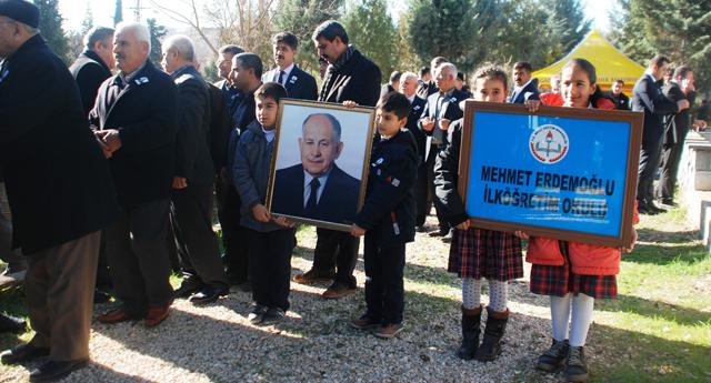 Mehmet Erdemoğlu anıldı