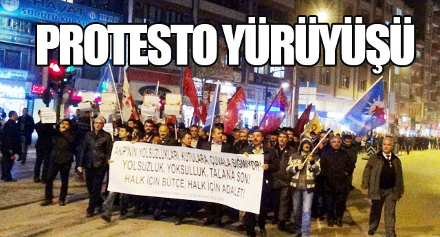 17-25 Aralık'ı protesto ettiler