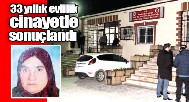 Kocasını öldüren Zeynep A. üzgün