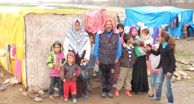 Suriyeli ailenin hayatı tam bir dram