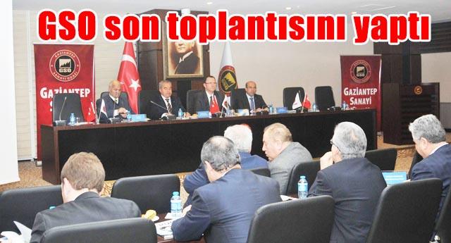 Mecliste 2014 değerlendirildi