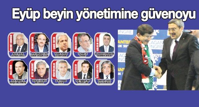AK Parti'de yeni yönetim değerlendirildi