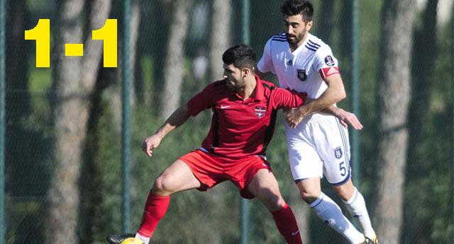 Başakşehir'le yenişemedik 1-1