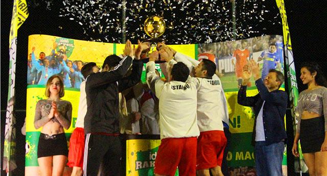 Türkiye'nin en iyi takımı İstanbul'dan!