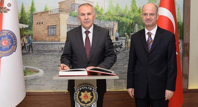 Erdal Ata'dan yeni Müdür'e ziyaret