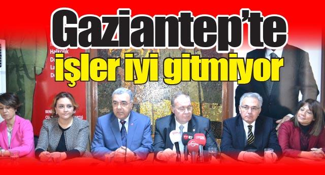 CHP heyeti Gaziantep'e çıkarma yaptı