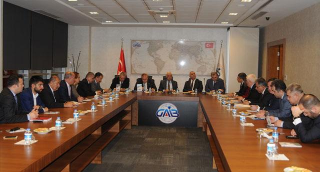 CHP'den GAİB'e ziyaret