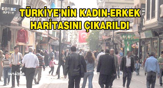 GAZİANTEP'TE HANGİ NÜFUS FAZLA