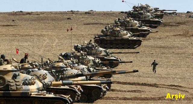 Tanklar Suriye sınırına gönderildi.