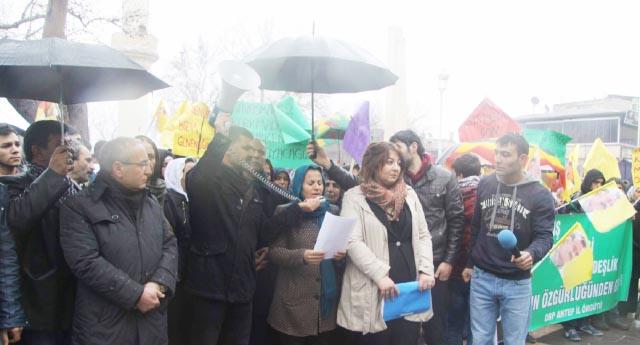 HDP'liler kınadı, polis tebrik etti