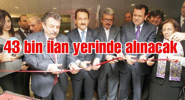 Basın İlan Kurumu İstanbul Adalet Sarayı İrtibat Bürosu açıldı