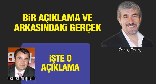 Osman Başkan teşekkür etmiş...