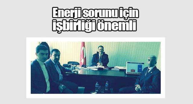 Mazıcıoğlu'nu ziyaret ettiler