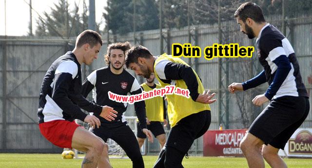 Son antrenman Kayseri'de