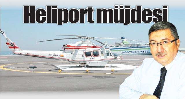 Artık havaalanına helikopter inmeyecek