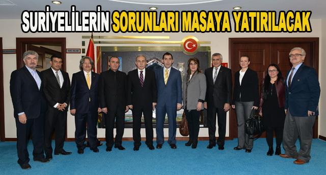 """TÜRKİYE KENT KONSEYLERİ  """"SURİYELİ"""" ÇALIŞTAYI DÜZENLEYECEK"""