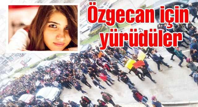 BİNLERCE KİŞİ PROTESTO ETTİ