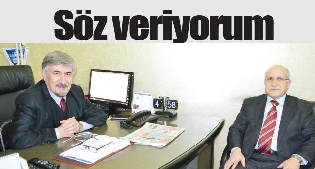 Gaziantep'e hizmet vermek istiyorum