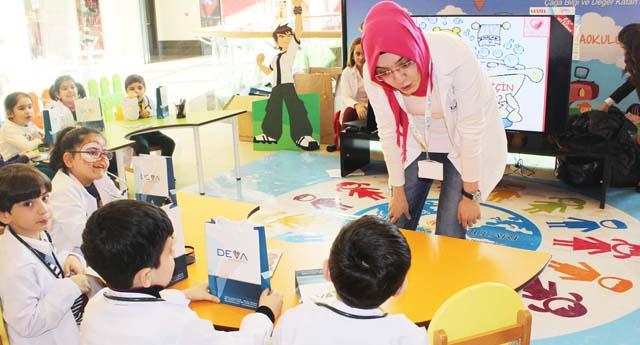 Özel Deva Okullarından çocuklara hijyen eğitimi
