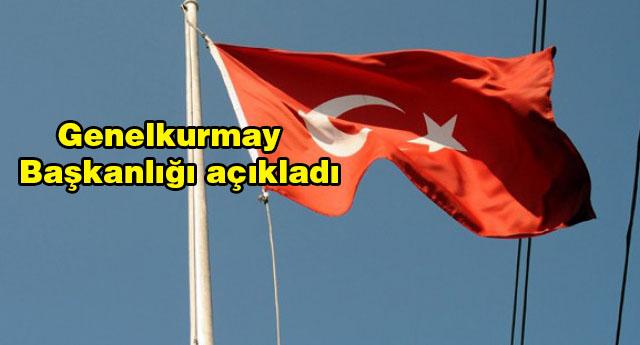 Gaziantep'te okul direğindeki bayrak indirildi
