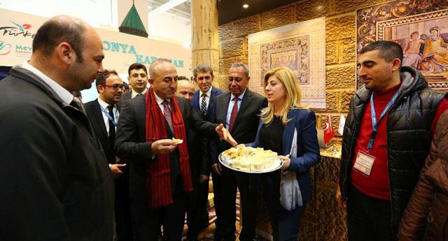 Bakan Çavuşoğlu'nun Gaziantep ilgisi