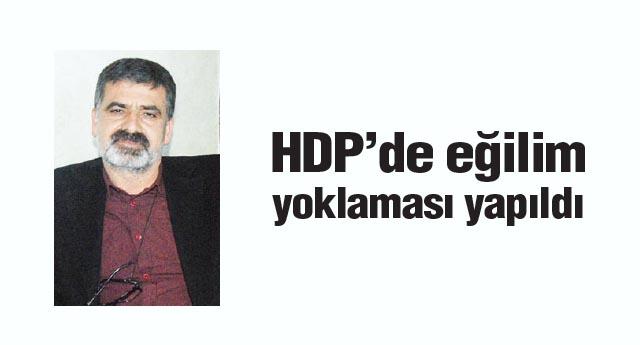 HDP'de eğilim yoklaması yapıldı