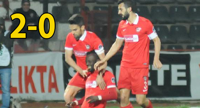 TRABZON HAFİF GELDİ 2-0